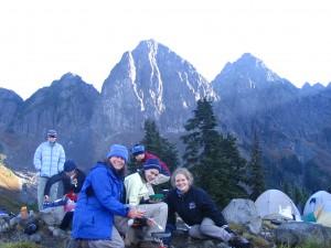Breakfast Time, Lk Ann, Mt Baker Wilderness